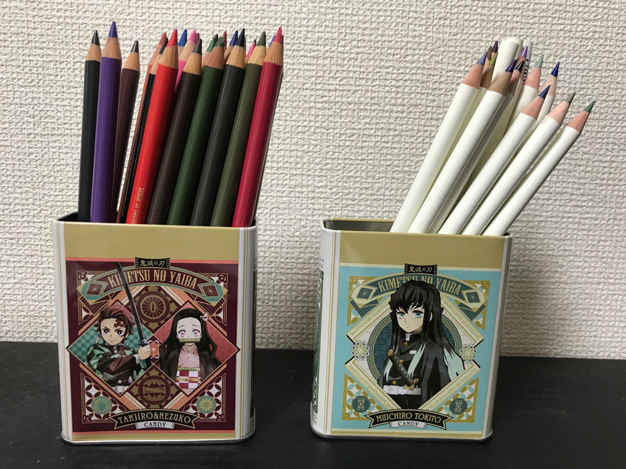 買い足した色鉛筆の写真